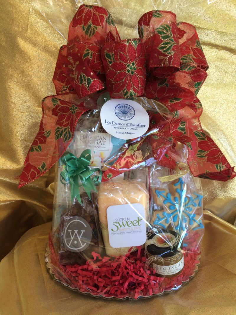 Les Dames d'Escoffier Hawaii Chapter is having its 2nd Annual Holiday Gift Basket Fundraiser Sale!